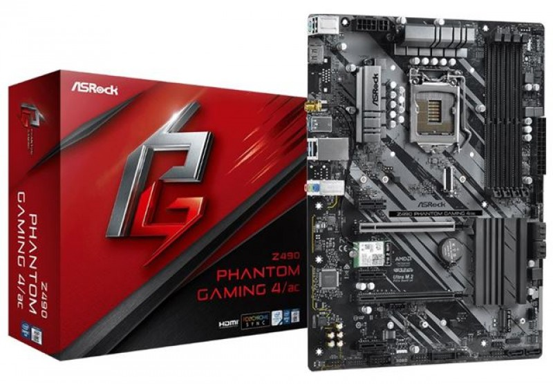 MBO ASRock 1200 Z490 PHANTOM GAMING 4 AC