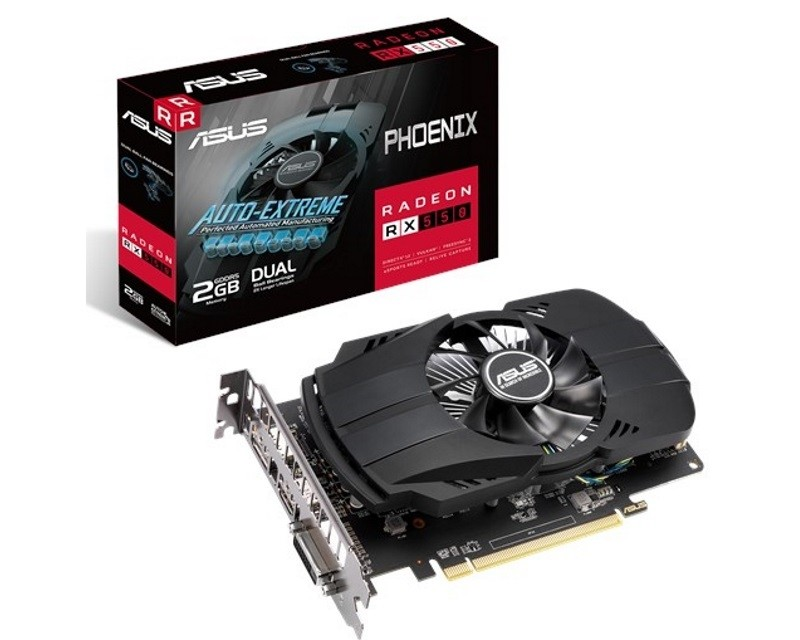 ASUS AMD Radeon RX 550 2GB 128bit PH-RX550-2G-EVO