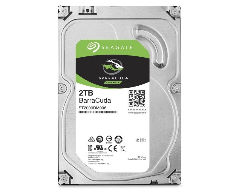 SEAGATE 2TB 3.5 SATA III 256MB 7.200rpm ST2000DM008 Barracuda