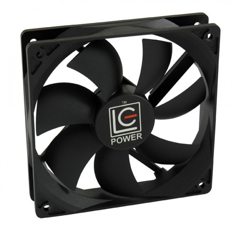 COOLER VENTILATOR LC POWER LC-CF-120 120MM PWM