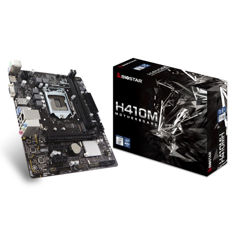 Matična ploča 1200 Biostar H410MH VGA/HDMI/M.2