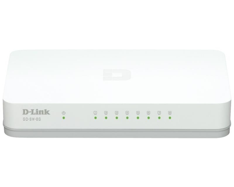 D-LINK GO-SW-8G 8port switch -G