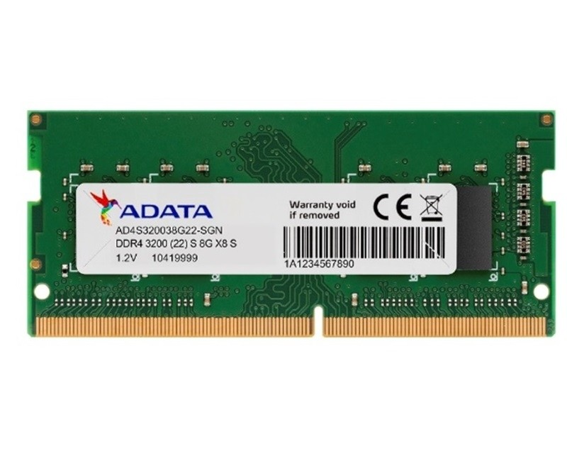 A-DATA SODIMM DDR4 8GB 3200Mhz AD4S320038G22-SGN