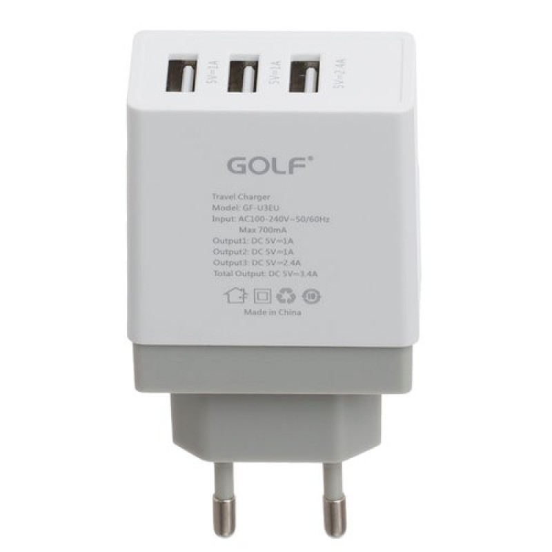 PUNJAC USB 3.4A GOLF GF-U3