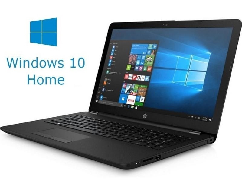 HP 15-RA012 15.6 Celeron N3060 4GB 500GB ODD Win10Home crni