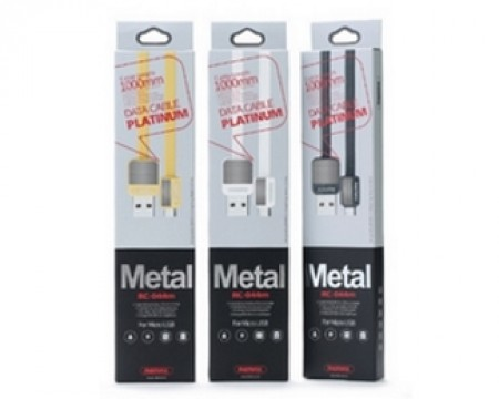REMAX Data platinum kabl RC-044 USB Micro tip B 1m zlatni
