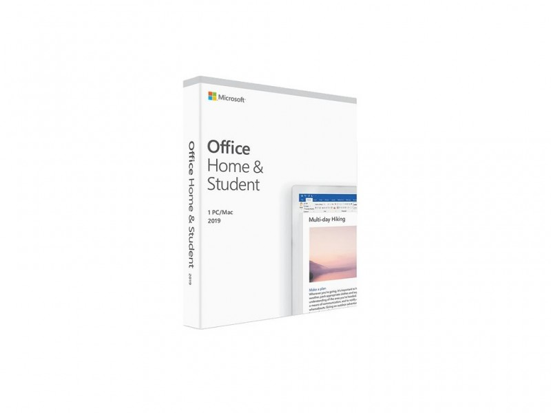 Office Home and Student 2019 English CEE Only Medialess P6 (79G-05187)