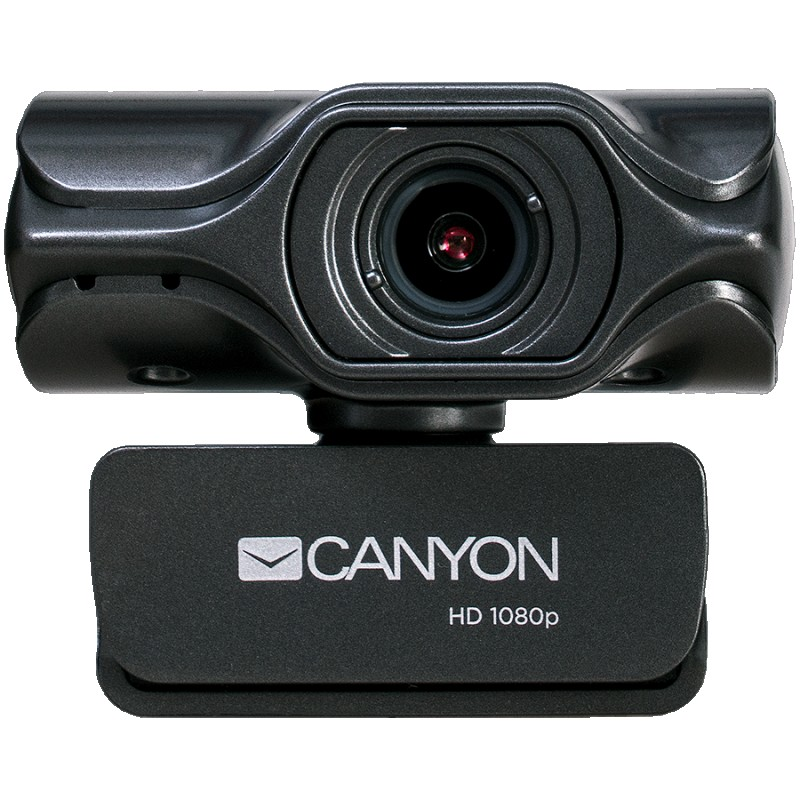 CANYON C6 2k Ultra full HD 3.2Mega webcam with USB2.0 connector, built-in MIC, IC SN5262, Sensor Aptina 0330, viewing angle 80°, with tripo