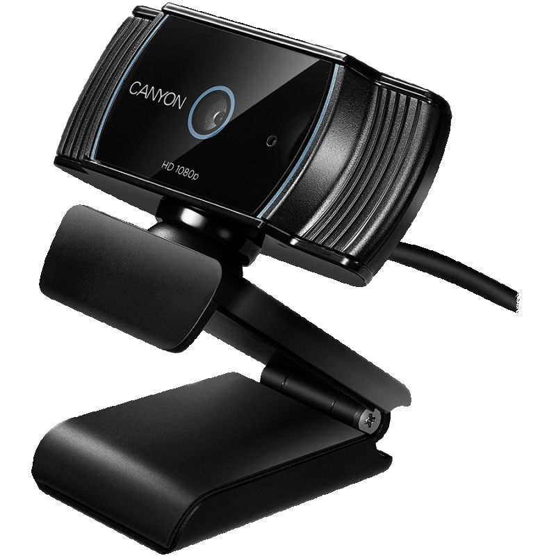 CANYON 1080P full HD 2.0Mega auto focus webcam with USB2.0 connector, 360 degree rotary view scope, built in MIC, IC Sunplus2281, Sensor OV