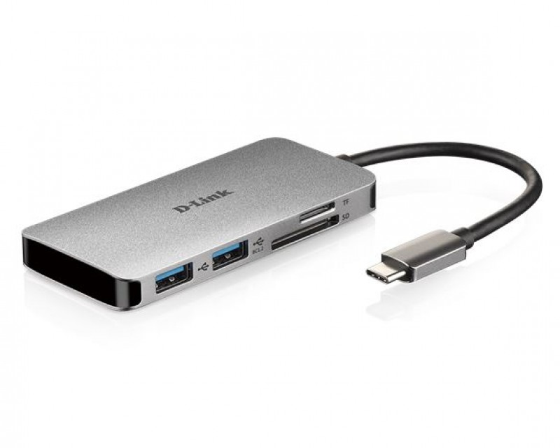 DLink 6-in-1 USB-C Hub, DUB-M610