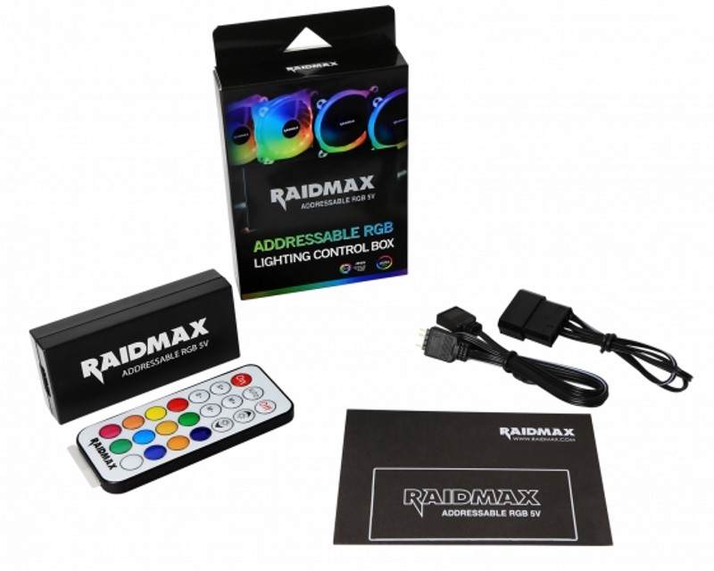 RAIDMAX Addressable RGB kontroler MX-411F