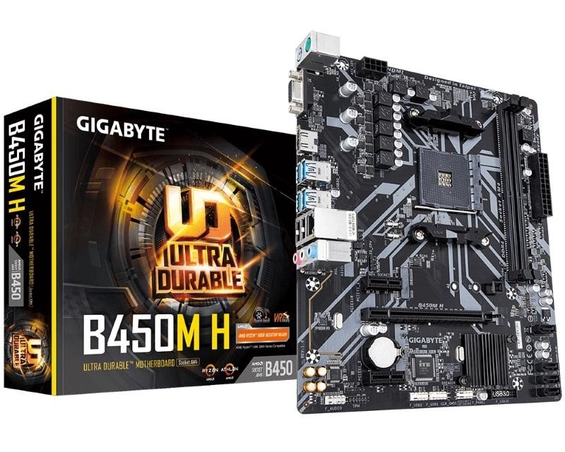 GIGABYTE B450M H rev.1.1