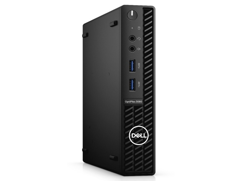 DELL OptiPlex 3080 Micro i3-10105T 8GB 256GB SSD Ubuntu 3yr NBD + WiFi