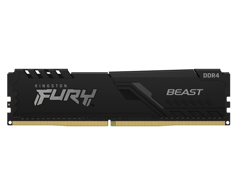 KINGSTON DIMM DDR4 8GB 2666MHz KF426C16BB 8 Fury Beast Black