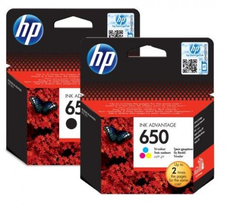 HP 650 Tri-color Ink Cartr. [CZ102AE],HP Deskjet Ink Advantage 2515 and 2515 e-All-in-One Printers