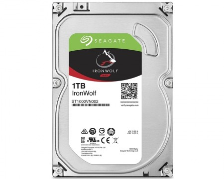 SEAGATE 1TB 3.5 SATA III 64MB ST1000VN002 NAS HDD
