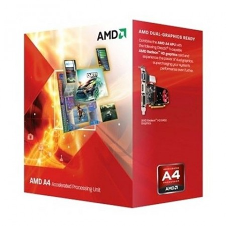 AMD FM2 A4-4020 X2 (3.40GHz 1MB 65W) Radeon HD7480D BOX