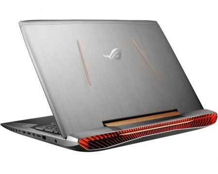 ASUS ROG G752VM-GC059D 17.3 Full HD Intel® Core i7-6700HQ 2.6 GHz (3.5 GHz) 16GB 1TB 2x 256GB SSD GeForce GTX 1060 6GB ODD srebrno-crni +