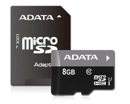 Memorijska kartica Adata SD MICRO 8 GB HC Class10 UHS