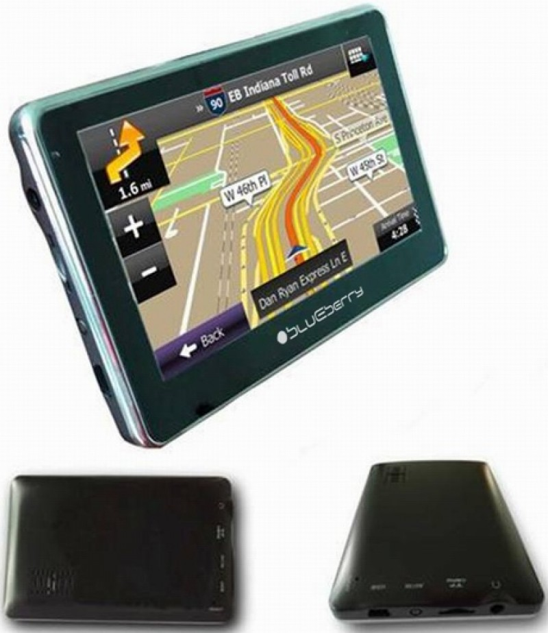 GPS BLUEBERRY 2GO447 4GB FM
